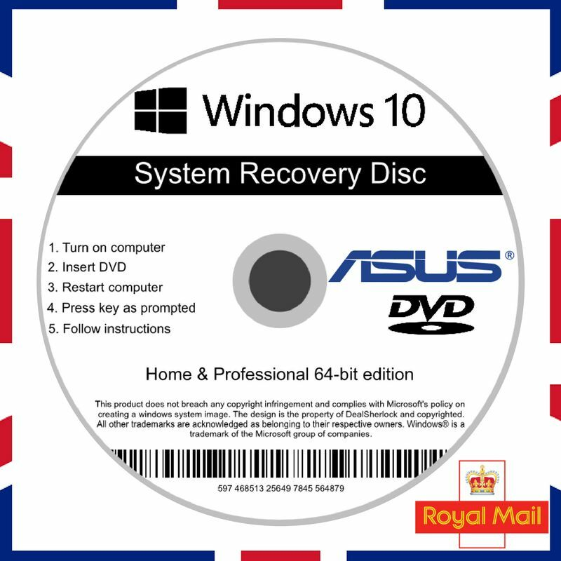 how to get asus recovery disk
