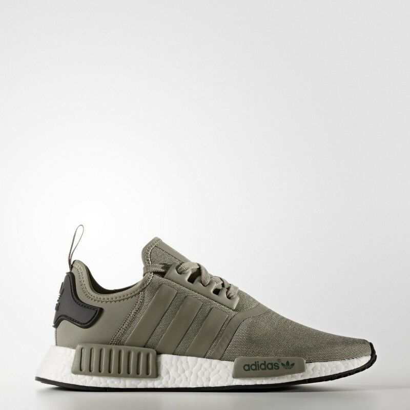 74e836a8d0ab3 Details about Adidas NMD R1 Runner Mesh Trace Cargo Trail Olive BA7249 Men  Size