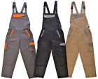 Hymac Bib and Brace Overalls Work Wear Dungarees Coveralls Trousers (HYM703)