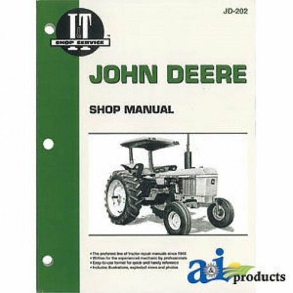 John Deere 650 Headlight Bulb : John deere i t shop manual  ebay