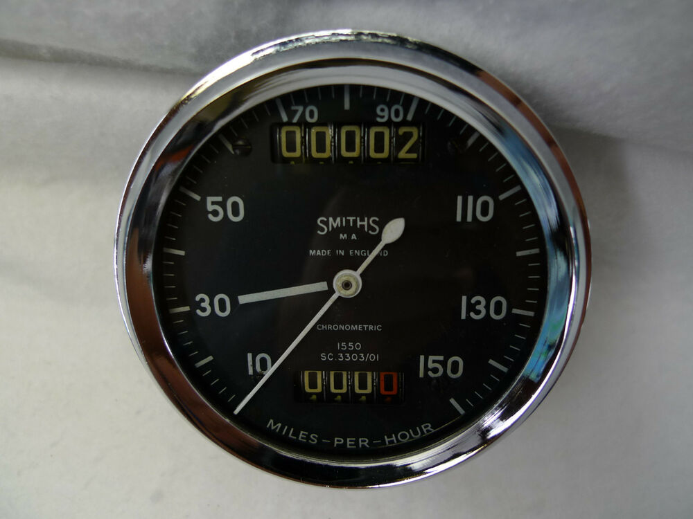 Gold Star Motors >> SMITHS CHRONOMETRIC SPEEDOMETER TO FIT ROYAL ENFIELD | eBay