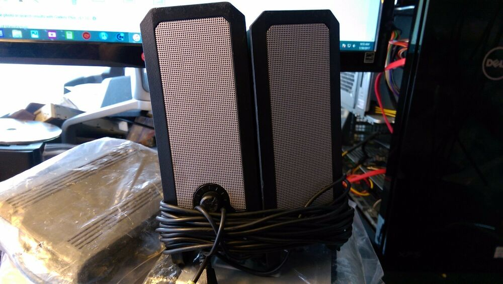 how to connect dell computer speakers