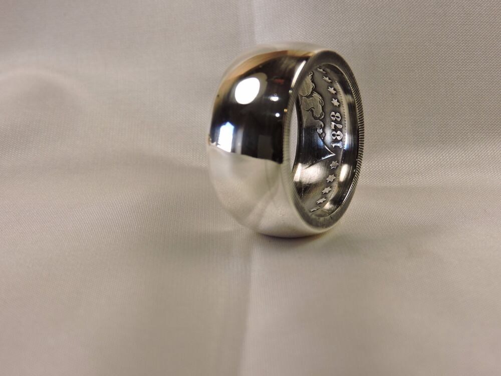 Rings Made Out Of Silver Dollars