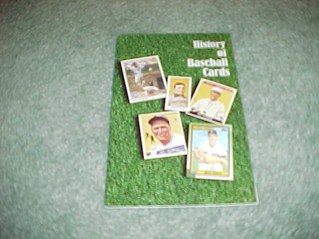 1980s History Of Baseball Cards Baseball Book Ty Cobb Lou Gehrig Wagner Cover Ebay