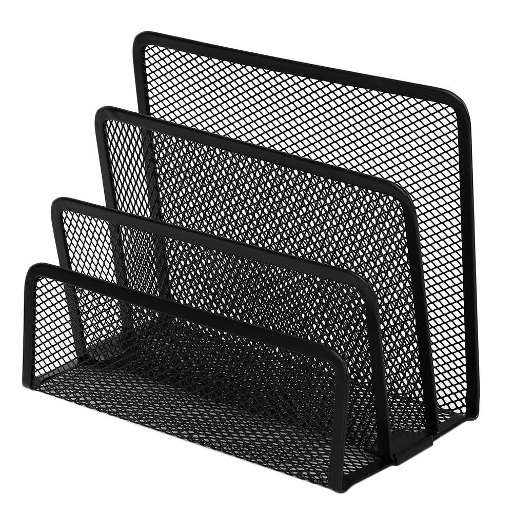 Practical Mesh Metal Letter Mail Document Organizer