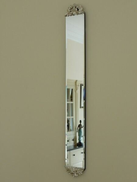 Slim wall mirror