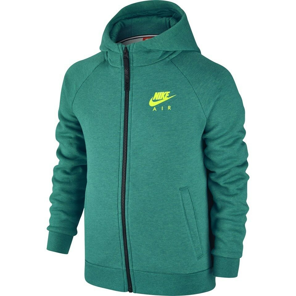 2e1aa93e85e4 Details about Nike Air NSW Hybrid Full Zip Boys Girls Kids Junior Hoodie  Top Jacket