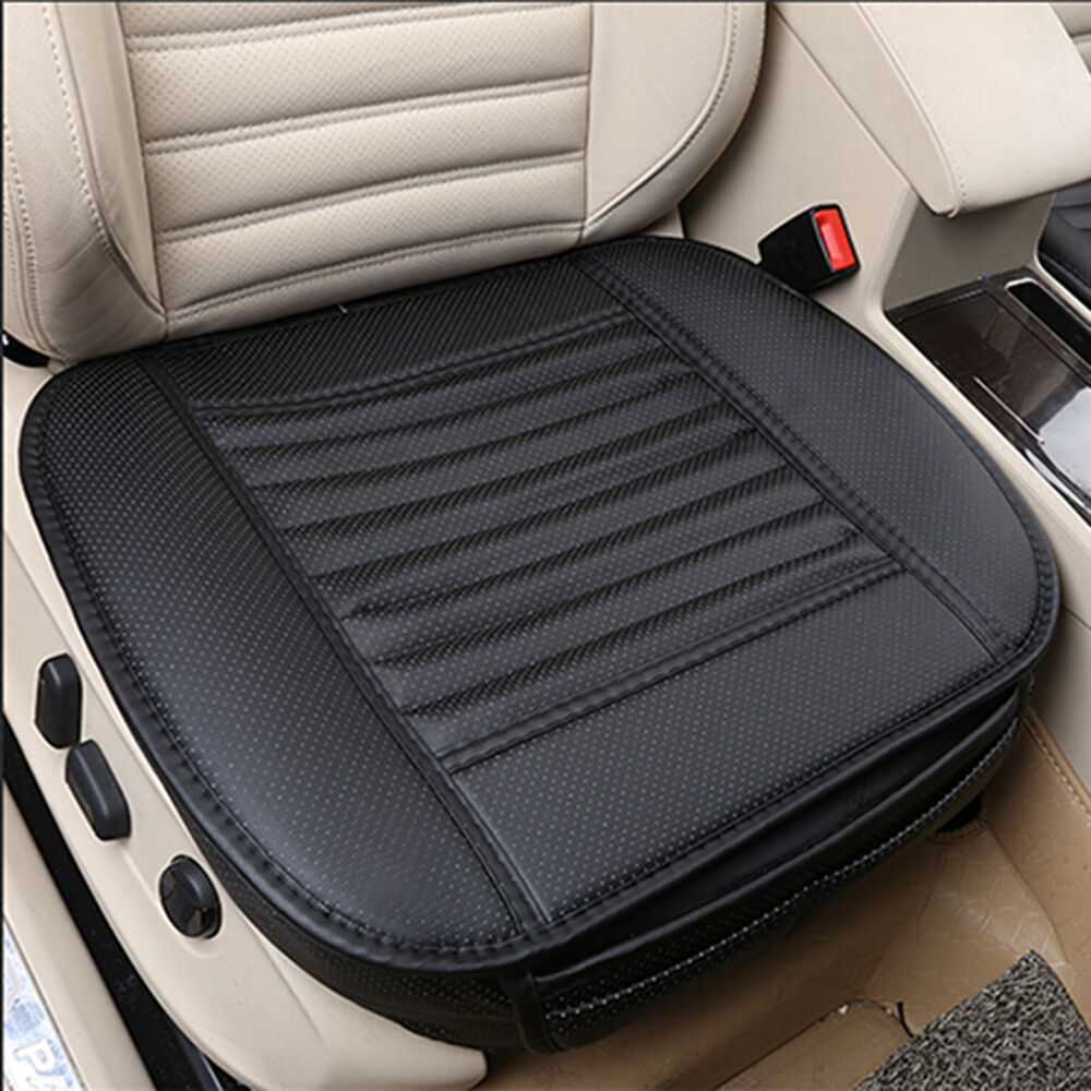 universal car pu leather seats protector mat seat cover pad breathable cushion ebay. Black Bedroom Furniture Sets. Home Design Ideas