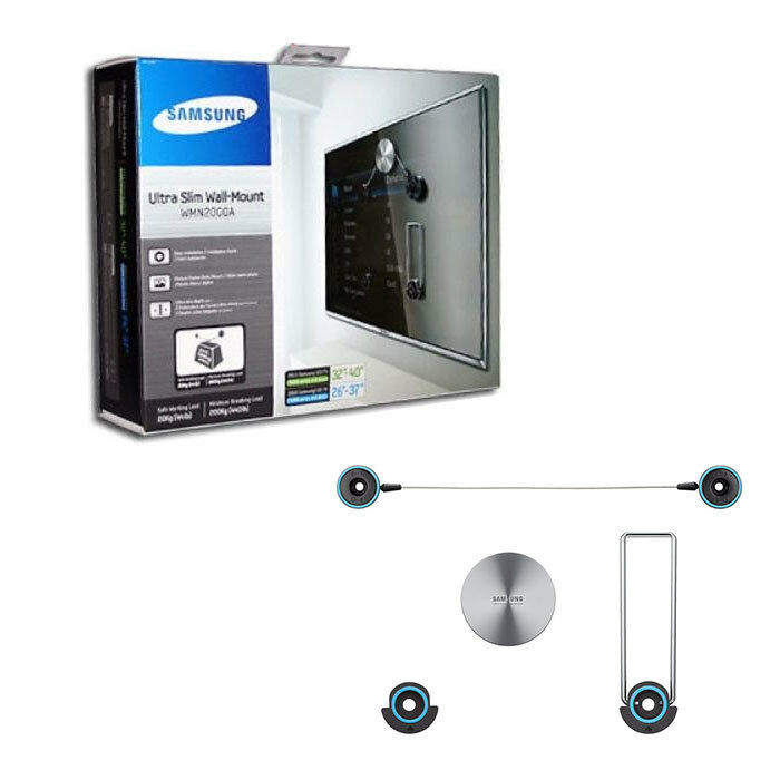 Samsung ultra slim wall mount bracket tv lcd led wmn2000a for Samsung tv wall mount