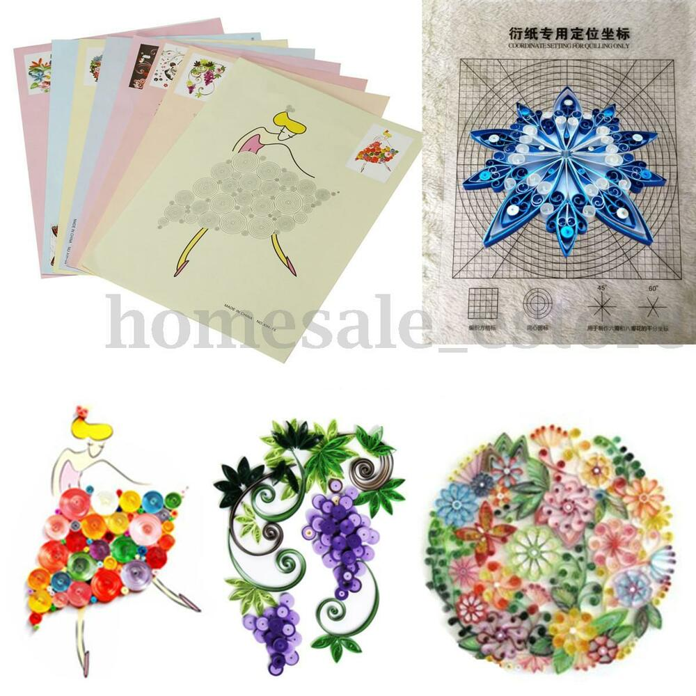 Kitchen Set Quilling: 18Pcs DIY Release Drawing Locating Paper Quilling Tool
