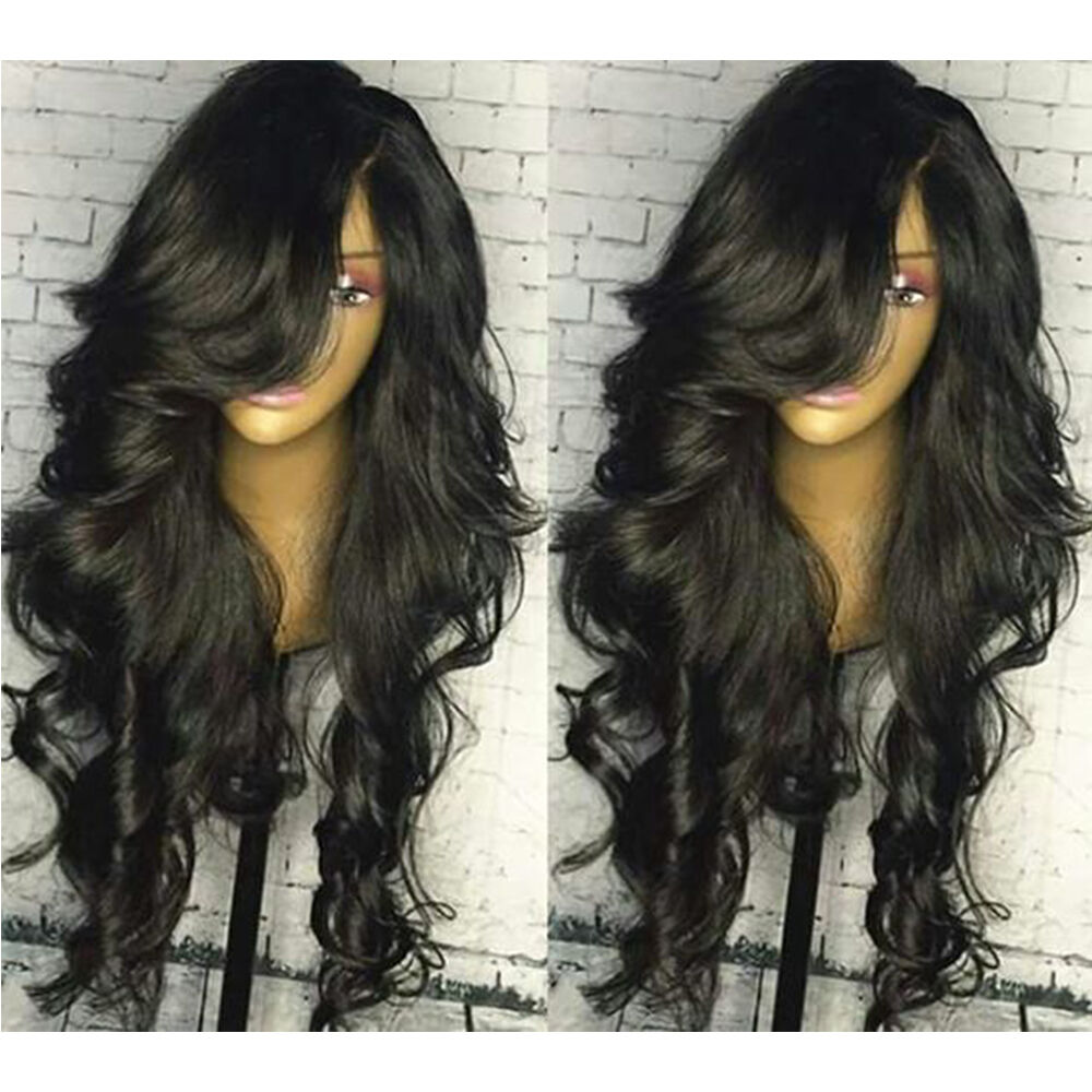 Brazilian Body Wave Human Hair Wigs Full Lace Wigs With