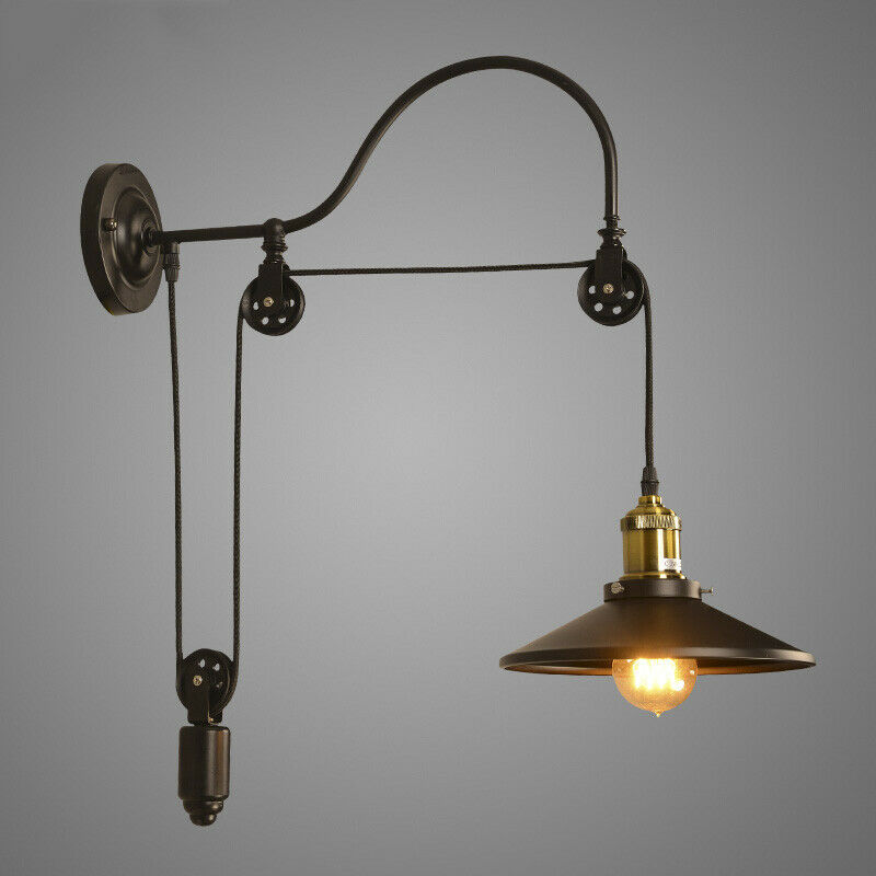 Wall Hanging Lights: Hot Industrial Wall Mounted Gooseneck Lamp Light Fixture