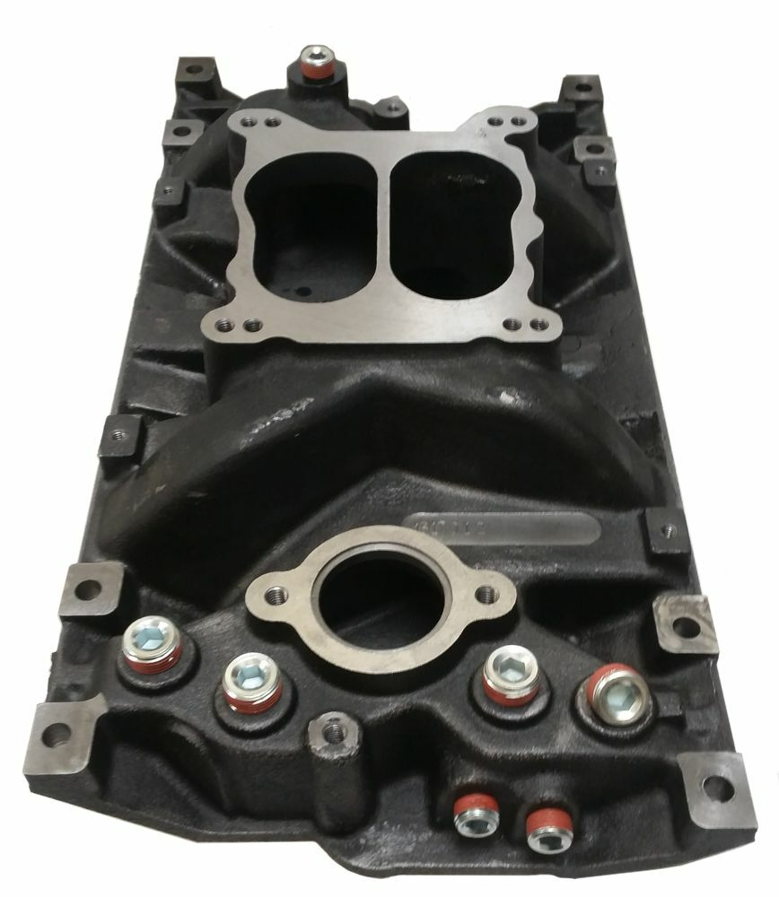 how to change intake manifold gasket chevy 350