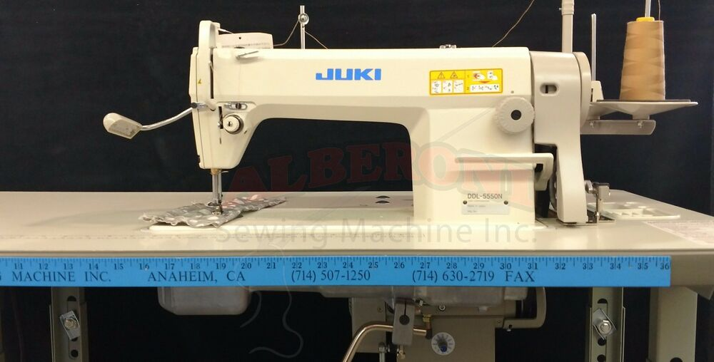 New Juki 5550n Industrial Sewing Machine Complete With K D