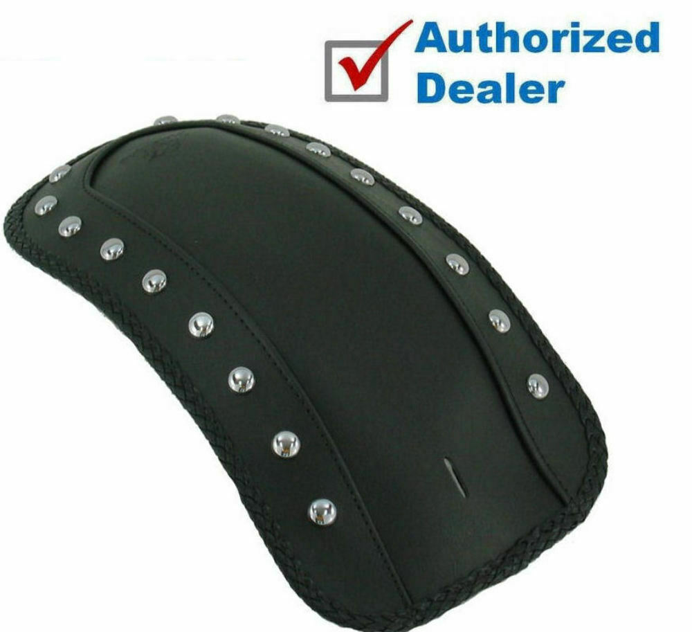 2017 Mustang Accessories >> Mustang Studded Solo Seat Fender Bib Cover Harley FXS FLS Softail 11-2017 78144   eBay