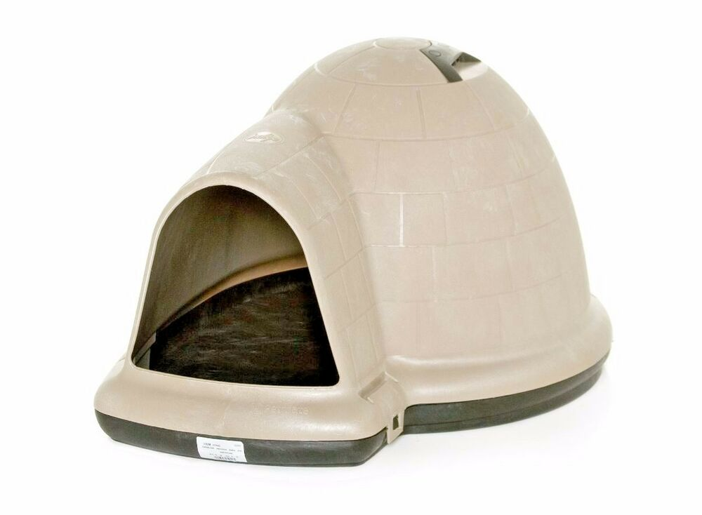 Igloo Dog House Petmate Indigo Large Pet Outdoor Shelter