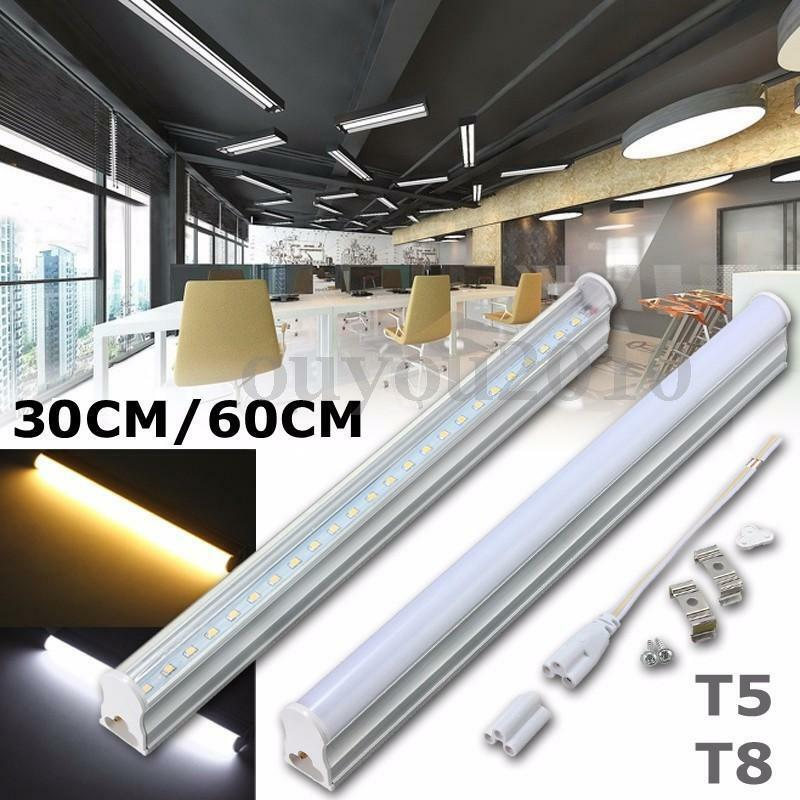 30 60cm T5 T8 G13 Led Fluorescent Tube Light Bar Lamp