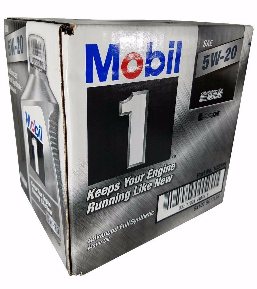 Mobil 1 5w 20 advanced full synthetic motor oil 1qt for What s the difference between 5w20 and 5w30 motor oil