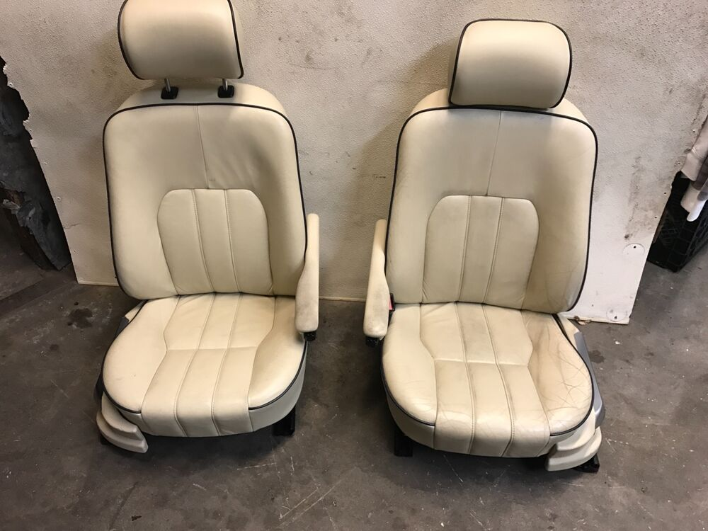03 09 land range rover hse l322 front heated seats seat tan leather oem a ebay. Black Bedroom Furniture Sets. Home Design Ideas