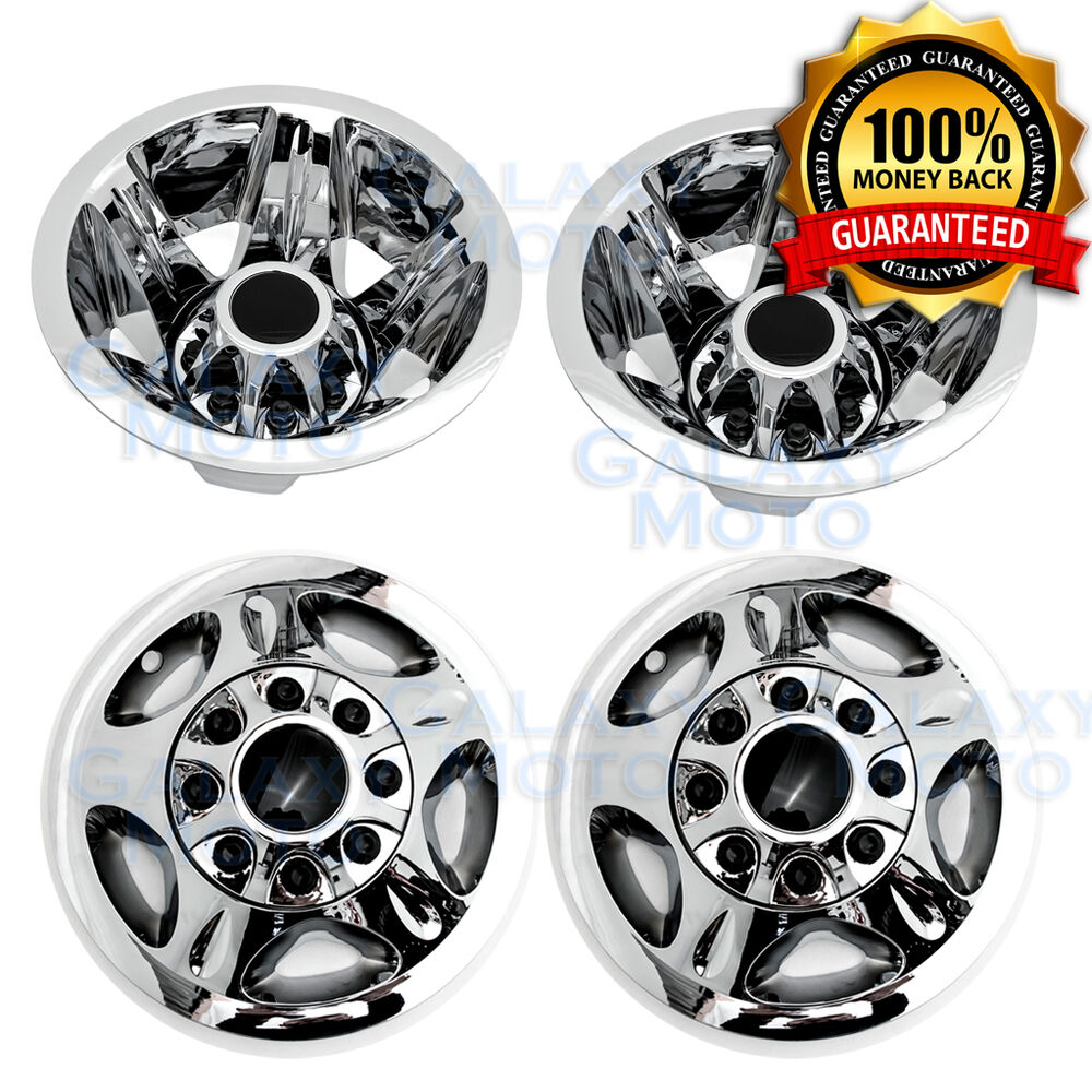 08 10 Gmc Sierra 3500 Dually Only Chrome Wheel Simulator