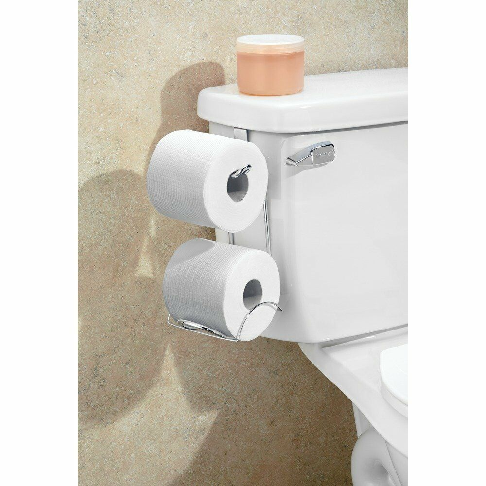 toilet paper holder tank toilet paper holder 2 roll bathroom storage organizer 11783
