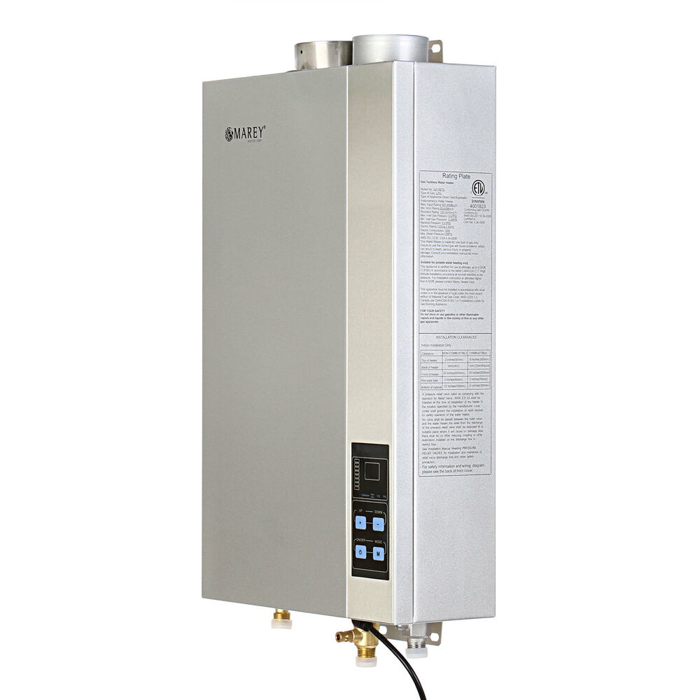 Marey 5 4 Gpm Natural Gas Tankless Hot Water Heater Etl