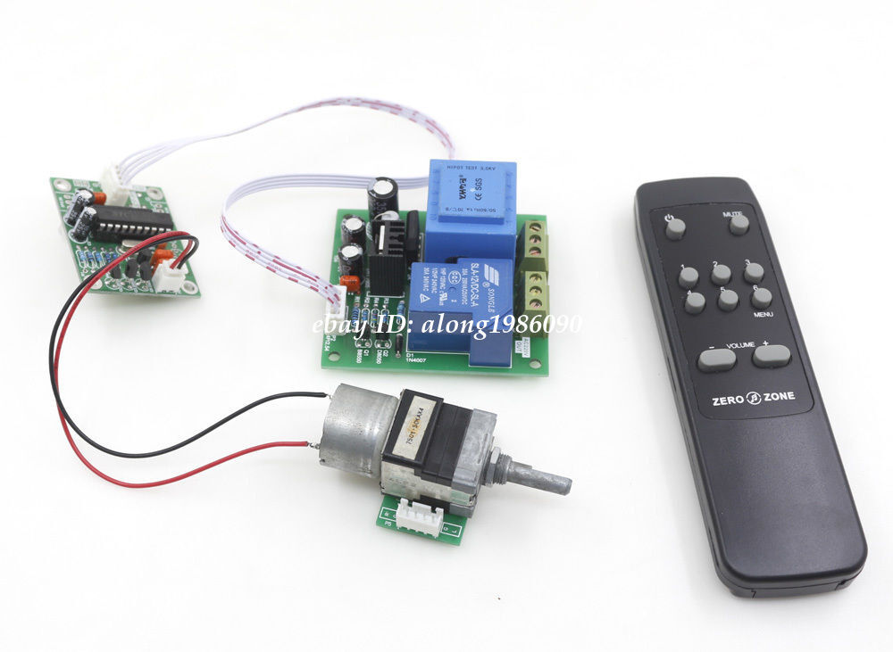 Remote Volume Control : Remote alps motor volume control board support power on