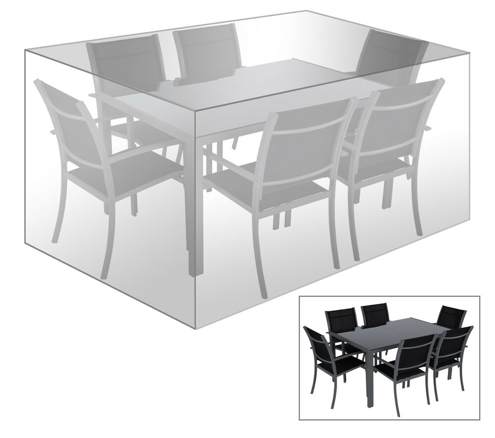 schutzh lle abdeckhaube f r sitzgruppe gartenm bel plane transparent gz1194tp ebay. Black Bedroom Furniture Sets. Home Design Ideas