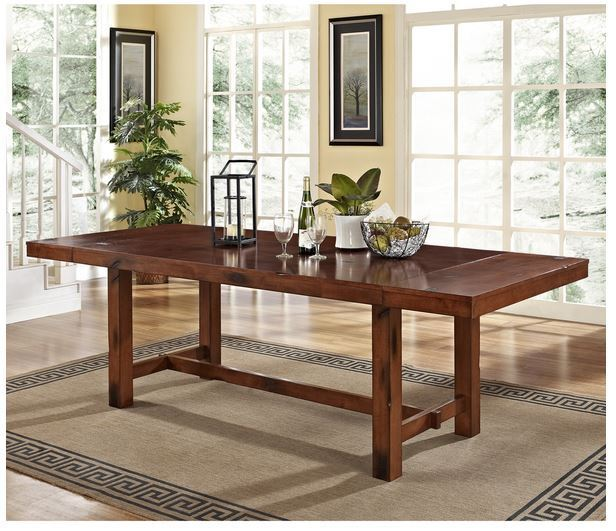 Wood Breakfast Nook Furniture ~ Rustic dining table farmhouse kitchen furniture breakfast