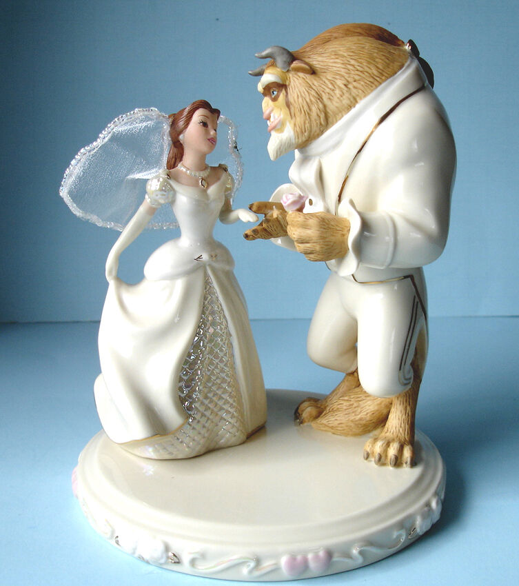 beauty and the beast wedding cake topper rose lenox disney s wedding dreams cake topper figurine 11250