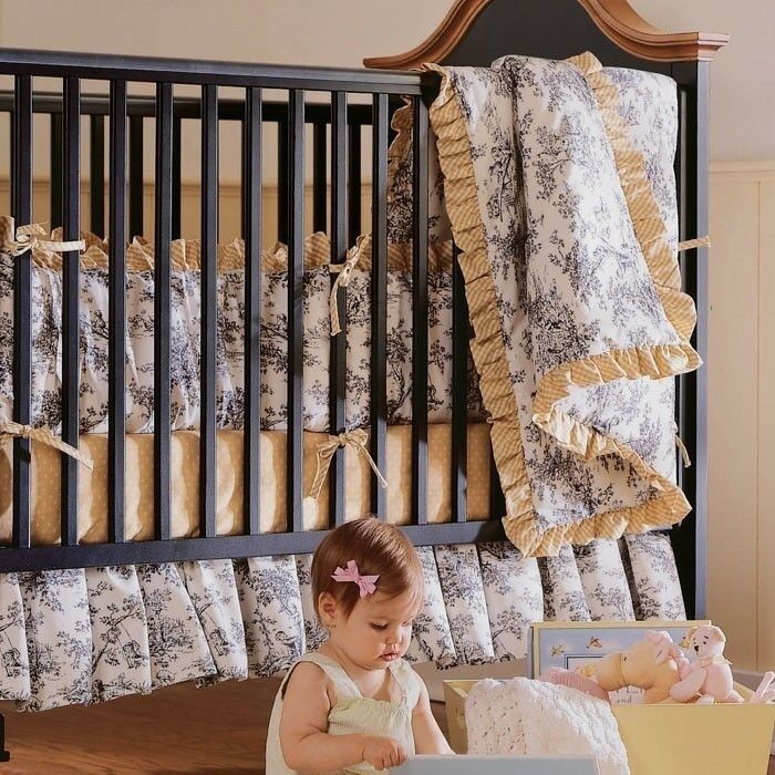 Mamarie antique black crib by stanley young america with - Stanley young america bedroom set ...