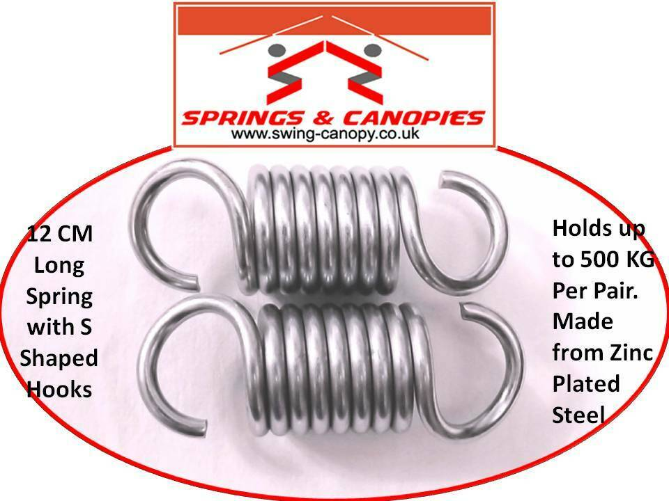 11cm Garden Swing Springs Replacement Extension Springs