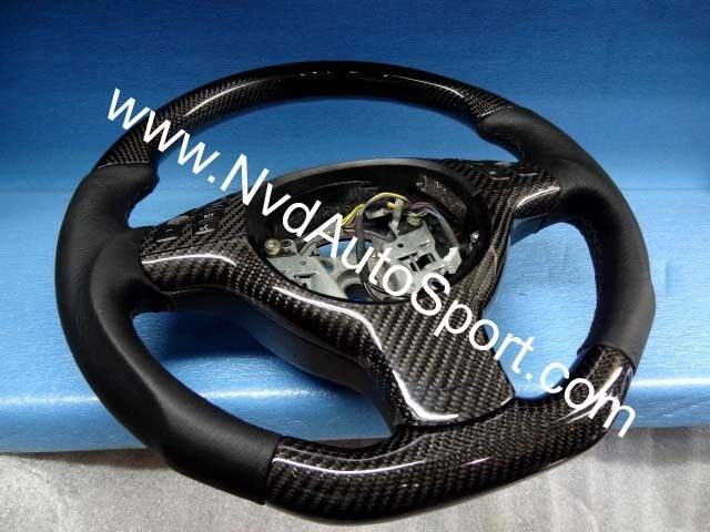 Bmw Steering Wheel Cover >> BMW E39 M5 and X5 E53 Carbon fiber MultiFunction Steering Wheel from NVD | eBay