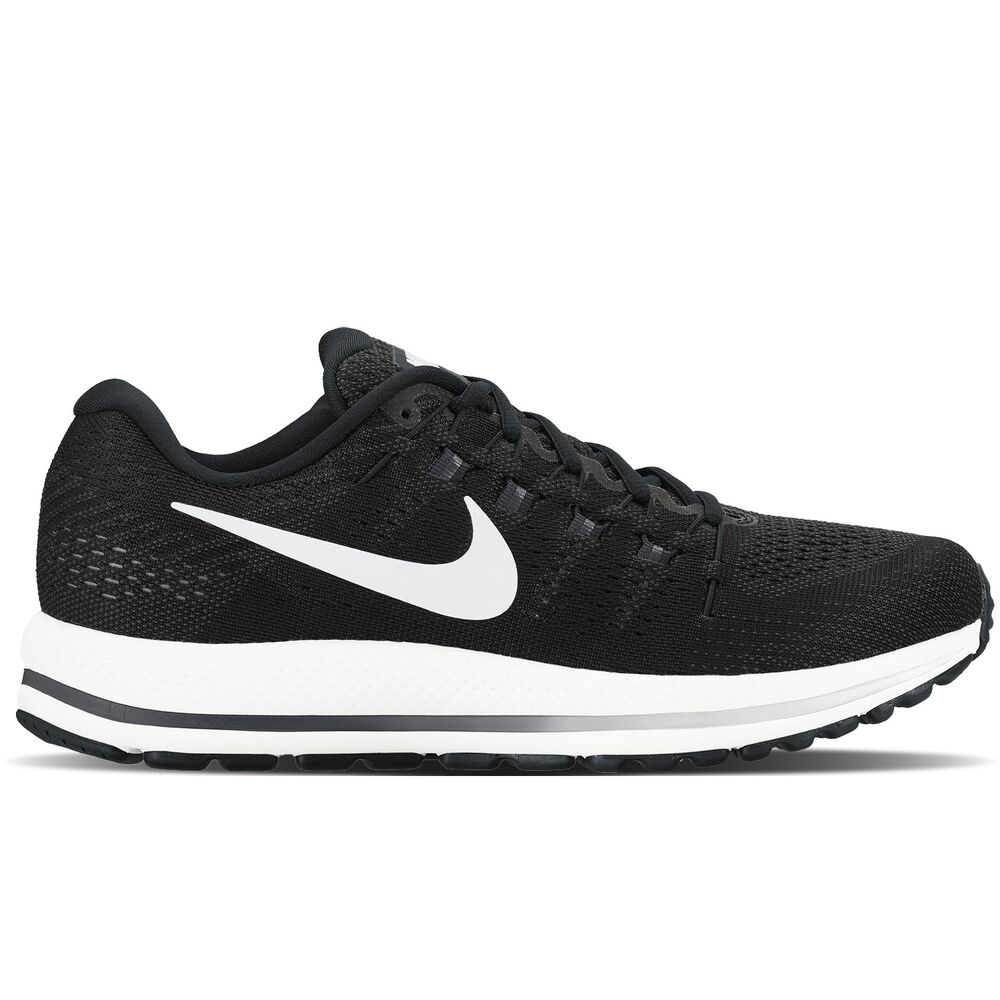 Nike 2017 Men's Air Zoom Vomero 12 Black/White 863762-001