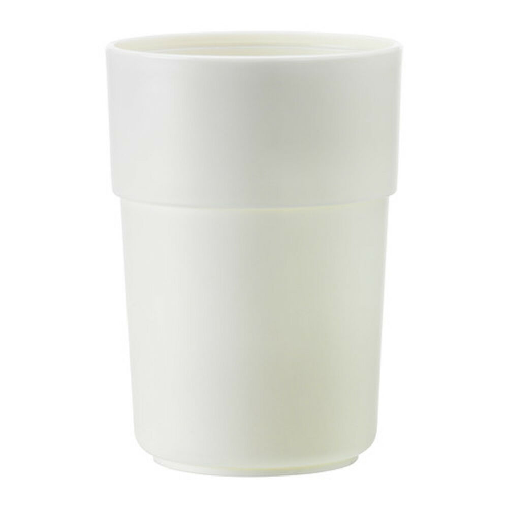 Ikea enudden off white plastic bathroom mug tumbler for White bathroom tumbler