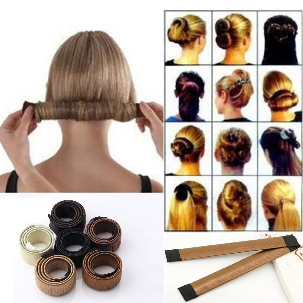 the wrap up hair styling sponge womens hair twist bun maker bun updo wrap snap diy 6252