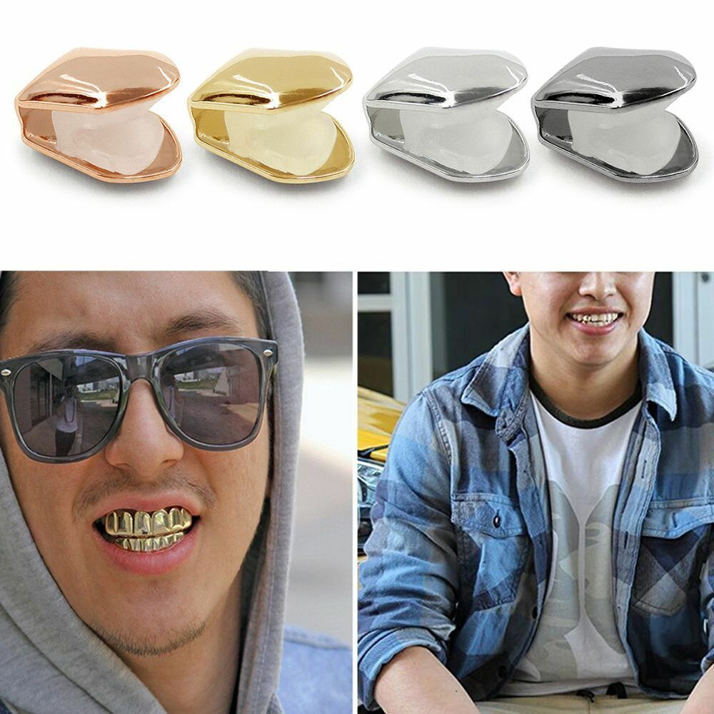 Hot Brand New 14k Gold Plated Small Single Tooth Cap