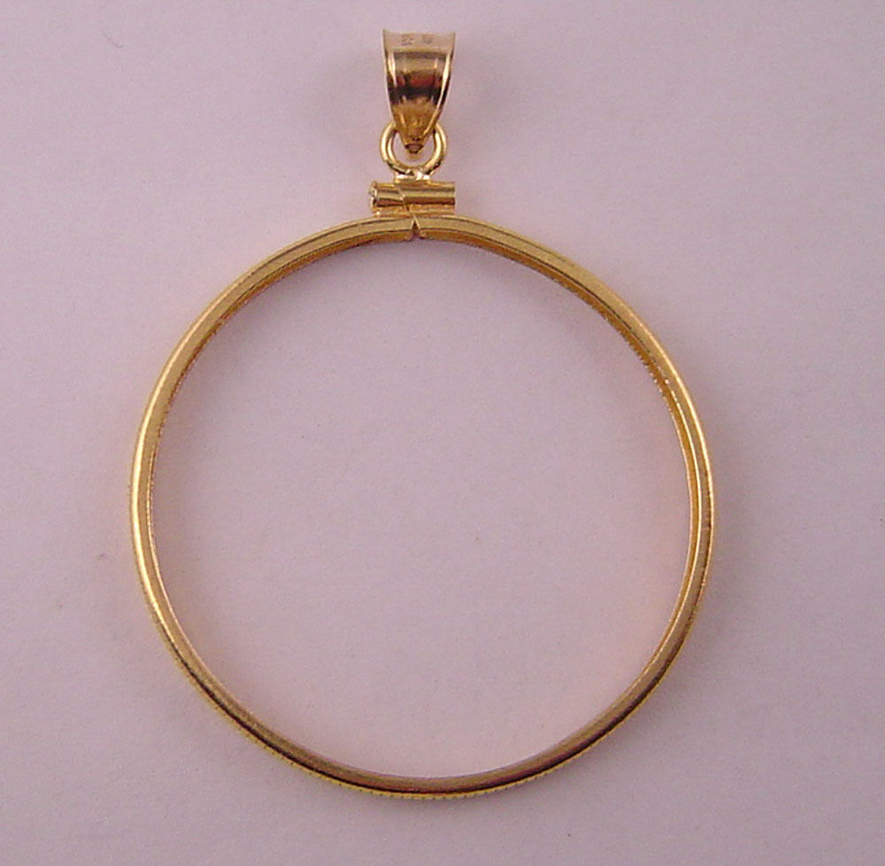 coin bezel how to make