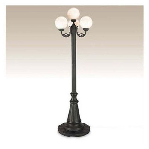 Outdoor Lamp Post Lighting Porch Light Antique Globe