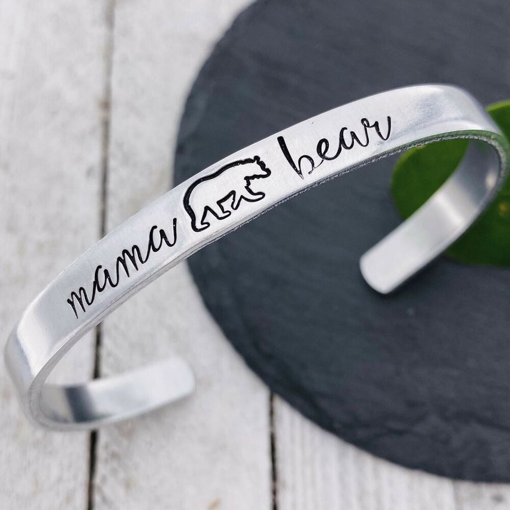9a3c666bf NEW! Mama Bear Cuff Bangle Bracelet Brand New Stamped Engraved NWT ...