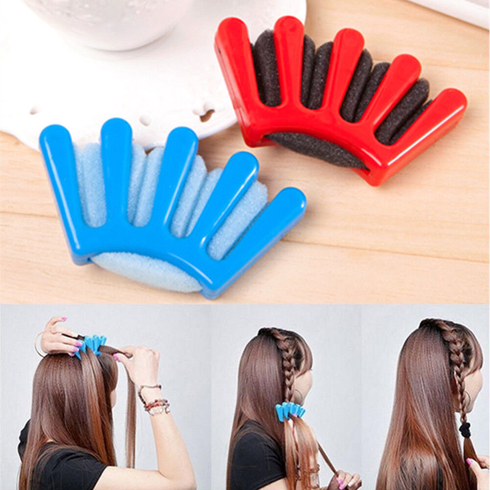 hair styling tools set hair styling braid plaiting easy twist tool roller 5819 | s l1000
