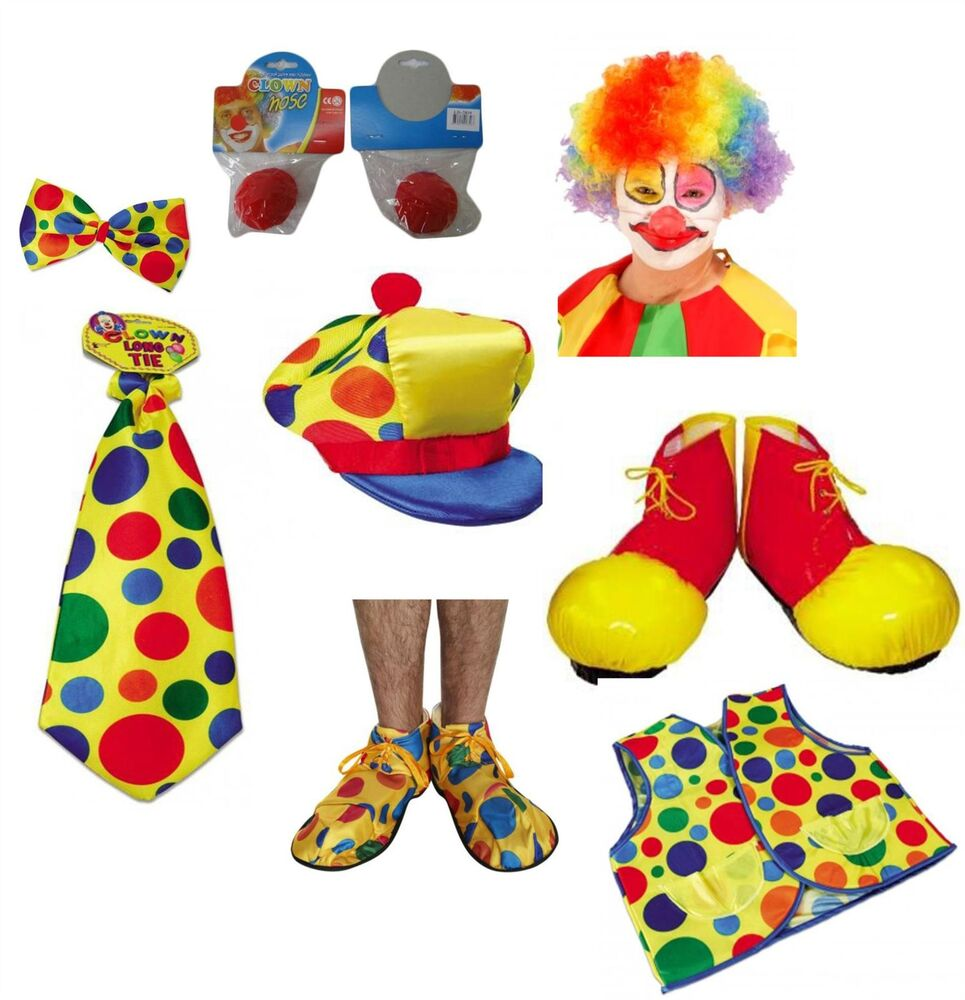 clown bow tie unisex fancy dress ebay