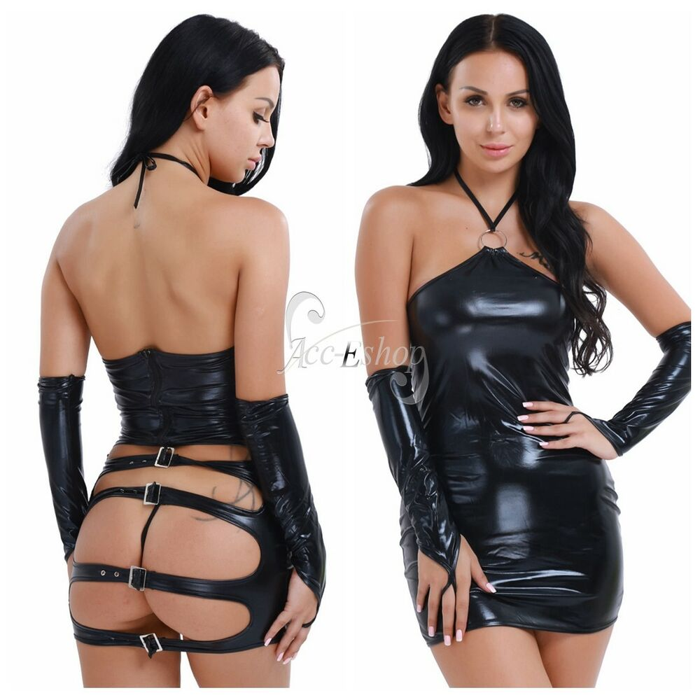 Are woman in leather fetish attire well