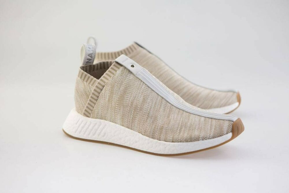 95fac72983af3 Details about BY2597 Adidas Consortium X Kith X Naked Men NMD CS2 Khaki Tan  sz 5-13