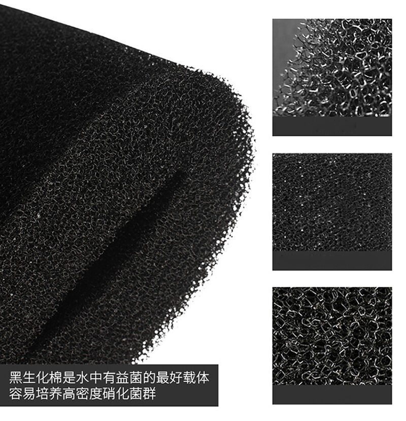 12 100cm biochemical filter foam pond filtration fish tank for Pond filter foam which way up