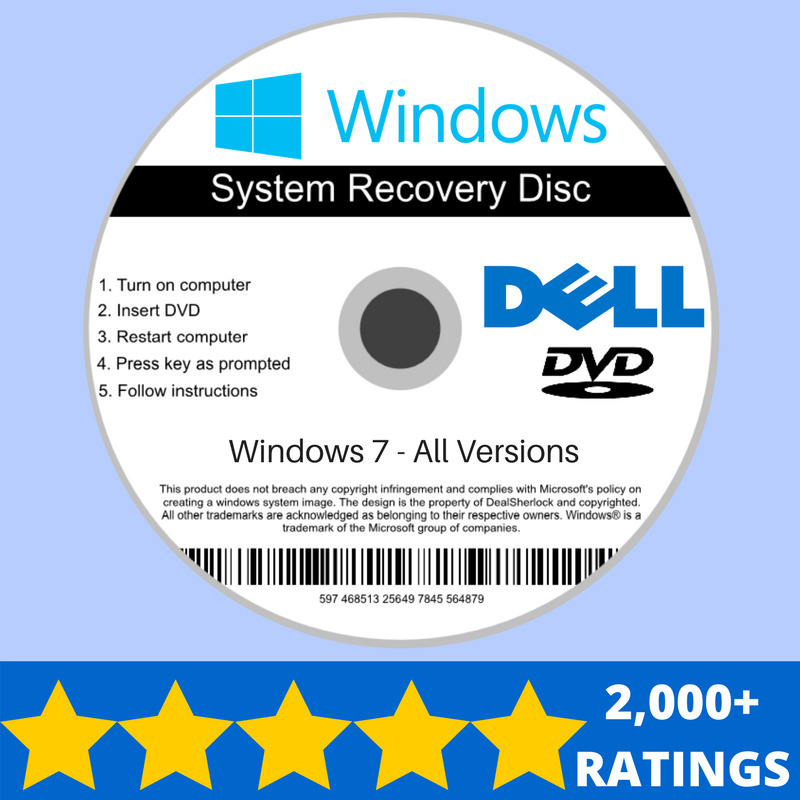 download recovery and repair disk for microsoft windows 7