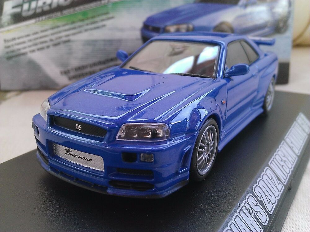 Fast And Furious Brians 2002 Nissan Skyline Gt R Diecast 143