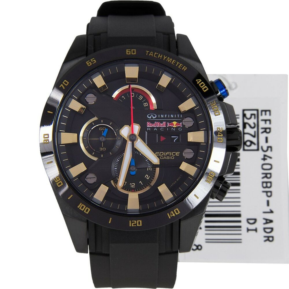 casio edifice infiniti limited edition red bull watch efr. Black Bedroom Furniture Sets. Home Design Ideas