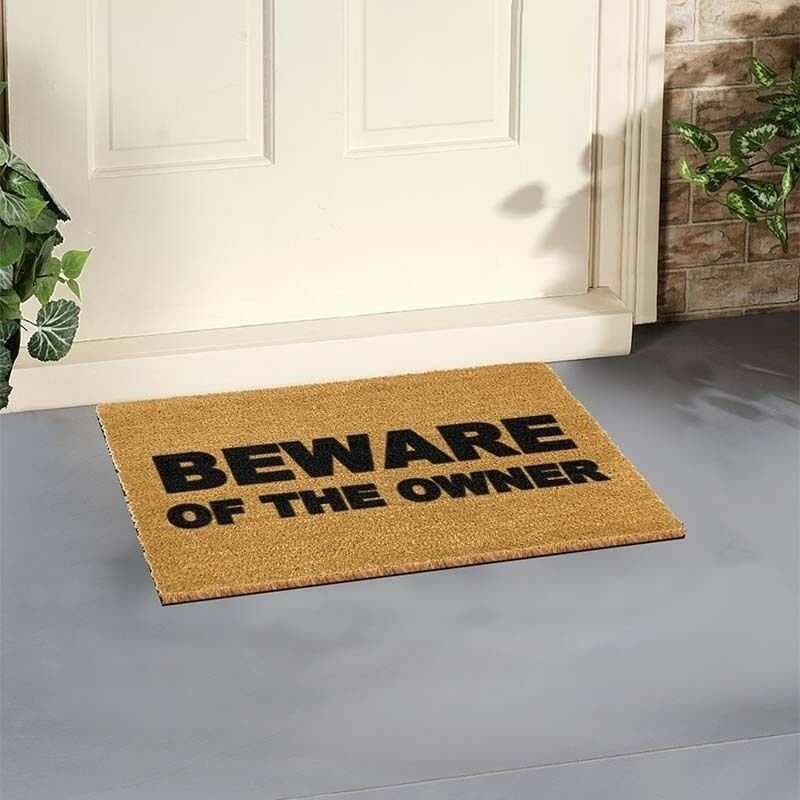 Funny Door Mat Outdoor Indoor Front Coir Mat By Artsy