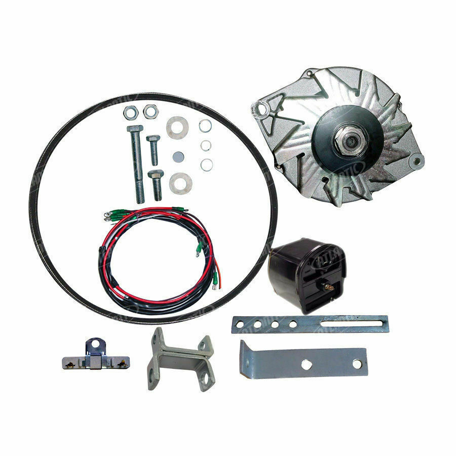 Ford 8n Alternator Conversion : Ford n tractor alternator conversion kit v to